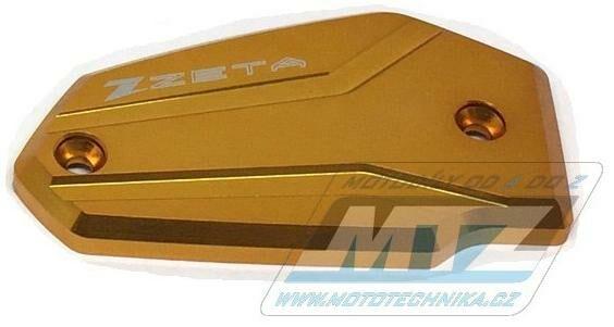 Obrázek produktu Kryt brzdové nádobky přední Kawasaki ER6F+ER6N+KLE650 Versys+Z650+Ninja 400 - zlatý (zs86-0134)