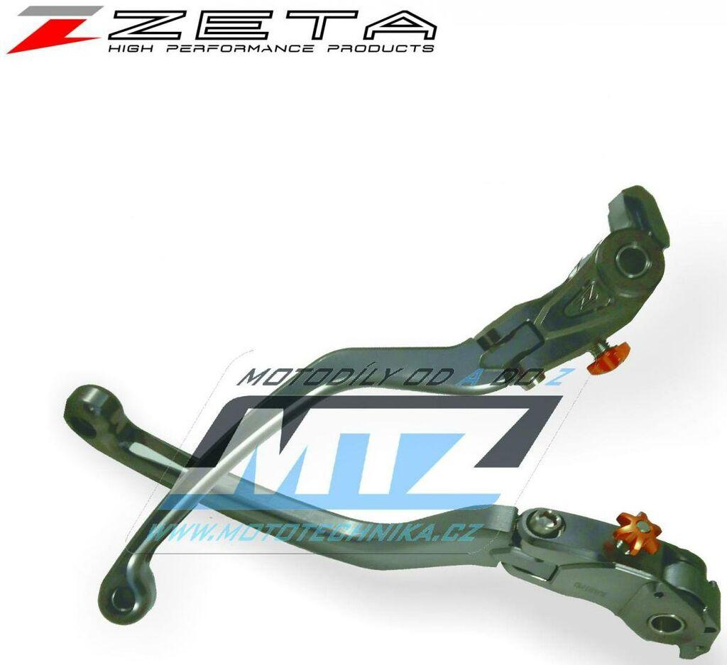 Obrázek produktu Páčka brzdy výklopná ZETA-PILOT (závodní provedení titan) - Yamaha V-MAX / 09-20 - MT-01 / 05-09 + YZF-R1 / 04-14 + YZF-R6 / 05-14 (packa-brzdy-vyklopna-zs61-1610)