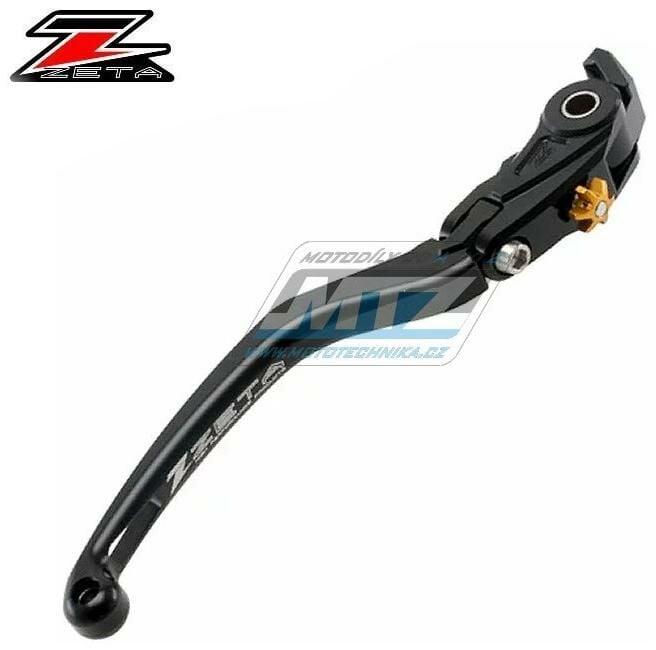 Obrázek produktu Páčka brzdy výklopná ZETA-PILOT (závodní provedení černá) - Yamaha V-MAX / 09-20 - MT-01 / 05-09 + YZF-R1 / 04-14 + YZF-R6 / 05-14 (zs611615)