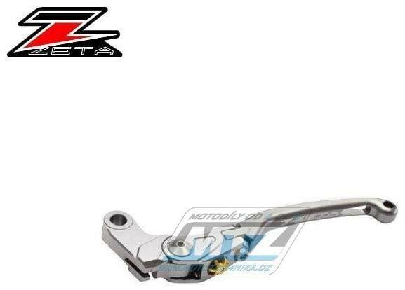 Obrázek produktu Páčka Spojky výklopná ZETA-PILOT (závodní provedení titan) - Suzuki GSX-R1000 / 05-06 + GSX-R1000 / 09-20 + GSX-S1000+GSX-S1000F / 15-20 + GSX-R600 / 06-19 + GSX-R750 / 06-19 KATANA / 19-20 + Yamaha F