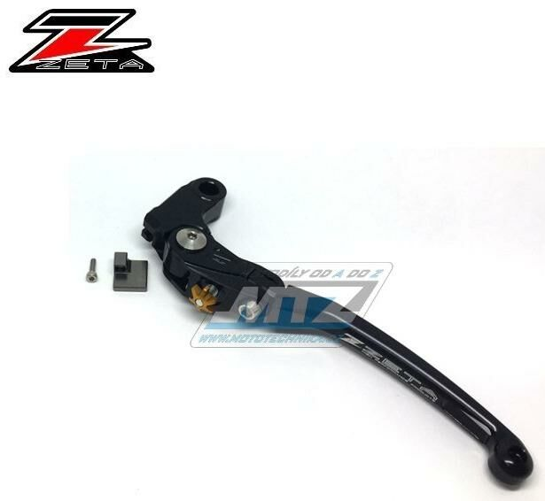 Obrázek produktu Páčka Spojky výklopná ZETA-PILOT (závodní provedení černé) - Suzuki GSX-R1000 / 05-06 + GSX-R1000 / 09-20 + GSX-S1000+GSX-S1000F / 15-20 + GSX-R600 / 06-19 + GSX-R750 / 06-19 KATANA / 19-20 + Yamaha F