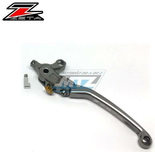 Obrázek produktu Páčka Spojky výklopná ZETA-PILOT (závodní provedení titan) - Yamaha V-Max + FJR1300 + MT01 + XJR1200 + XJR1300 + Kawasaki ZRX1100 + ZRX1200 + GPZ900R + Zephyr1100 + ZX-7R (zs612610)