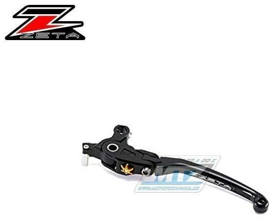 Obrázek produktu Páčka Spojky výklopná ZETA-PILOT (závodní provedení černé) - Yamaha V-Max + FJR1300 + MT01 + XJR1200 + XJR1300 + Kawasaki ZRX1100 + ZRX1200 + GPZ900R + Zephyr1100 + ZX-7R (zs612615)