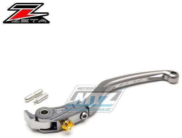 Obrázek produktu Páčka Spojky výklopná ZETA-PILOT (závodní provedení titan) - Kawasaki H2 / 15-16 + Ducati Panigale 1299 / 15 + Panigale 1199 / 12-14 + Tricolore 1199 / 12-14 + Panigale 1199 R / 13-15 + Panigale 899 /