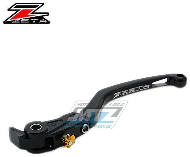 Obrázek produktu Páčka Spojky výklopná ZETA-PILOT (závodní provedení černá) - Kawasaki H2 / 15-16 + Ducati Panigale 1299 / 15 + Panigale 1199 / 12-14 + Tricolore 1199 / 12-14 + Panigale 1199 R / 13-15 + Panigale 899 /
