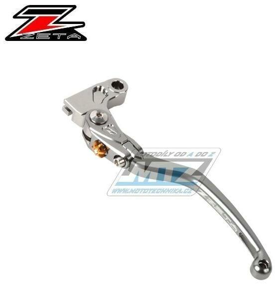 Obrázek produktu Páčka Spojky výklopná ZETA-PILOT (závodní provedení titan ) - Triumph BONNEVILLE / 11-15 + BONNEVILLE SE / 09-12 + BONNEVILLE T100 / 01-15 + DAYTONA 675 / 06-15 + DAYTONA 675R / 11-15 + DAYTONA 675SE