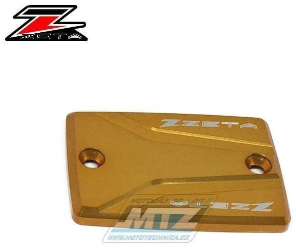 Obrázek produktu Víčko brzdové nádoby a spojkové víčko - Suzuki GSF1200 + GSF1250 + GSX1250 + GSX1300 + GSX-R1100 + SV1000 - zlaté (zs860154-1)