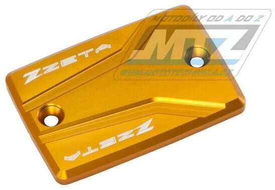 Obrázek produktu Kryt brzdové nádobky zadní Yamaha FZ6, FZ6R, FZ07, MT-07, FZ-09, MT-09, FZ1, FZ1 Fazer, FJR1300, XJR1300 - zlatý (zs86-0164)