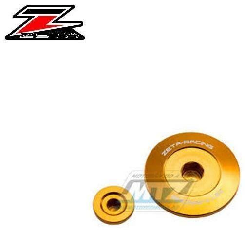 Obrázek produktu Zátky motoru Kawasaki ER-6N, ER-6F, Versys650, Ninja 400, Ninja 650, ER-4 - zlatá (zs891204)