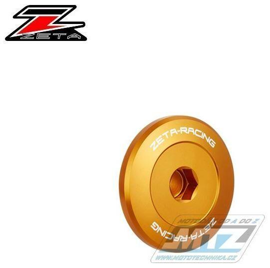 Obrázek produktu Zátky motoru Yamaha  FZ07 / 15-17 + MT07 / 14-20 + FZ09 / 14-17 + MT09 / 14-20 + XSR700 / 18-19 + TENERE700 / 20-21 + TRACER900 / 18-20 + XSR900 / 16-20 - zlatá (zs891414)