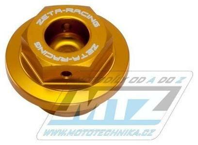 Obrázek produktu Zátka nalévací oleje M20x2,5 - Honda CBR250, CBR400, CBR600RR, CBR1000RR + Kawasaki ER6N, ER6F, Versys650, Ninja 400 - zlatá (zs89-2304)