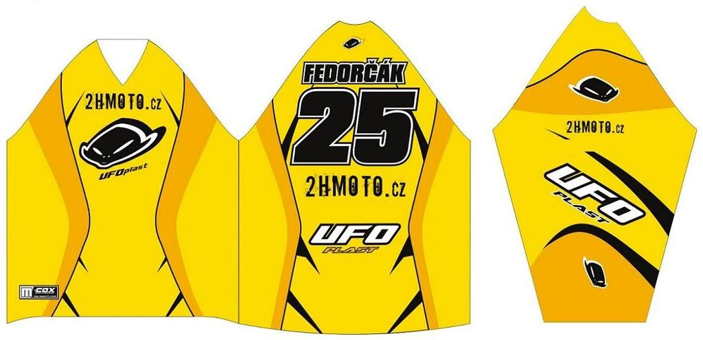 Obrázek produktu Dres na zakázku ukázka Motocross, Enduro, MTB, BMX, DH, 2 ID-973
