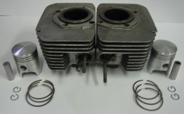 Obrázek produktu Výbrus válce Jawa 350 / 634-638 - dvouválec, komplet sada JAWA350,634,638