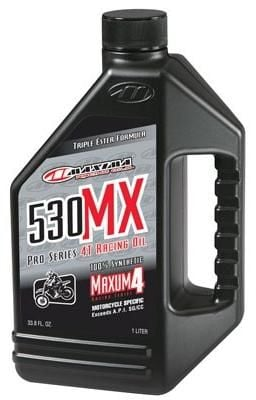 Olej MAXIMA 530MX 100% SYNTHETIC 4T RACING ENGINE OIL - MX/OFFROAD 1L 90901