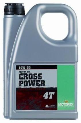 Motorex Cross Power 4T 10W50 4L MO 017523