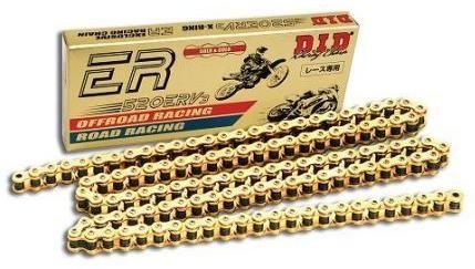 Obrázek produktu DID Racingřetěz 520ERV3-120  článků, zlatý