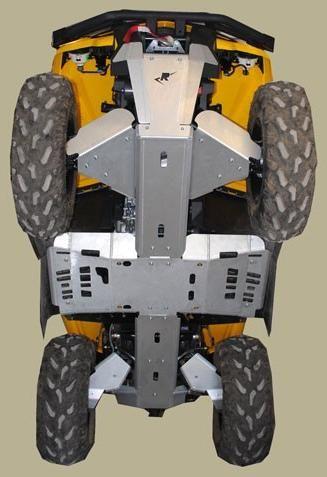 Obrázek produktu Kompletní sada krytů podvozku ATV Can-Am Outlander 500/650/800/1000 Max, Gen 2 Frame 2011-13, Skidplate set 7499XM