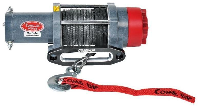 Obrázek produktu Naviják ATV COMEUP Cub 4s 12V STD, 4000lbs, syntetické lano