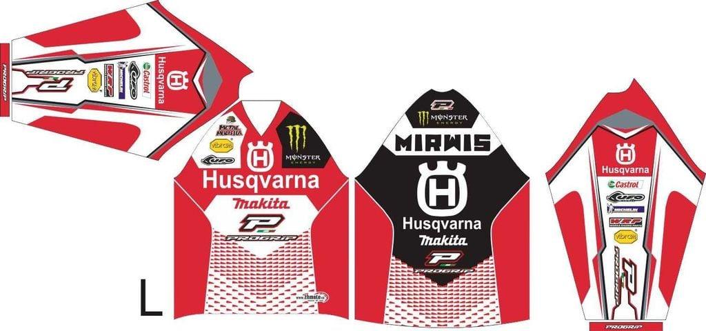 Obrázek produktu Dres na zakázku ukázka Motocross, Enduro, MTB, BMX, DH, 10 ID-29040
