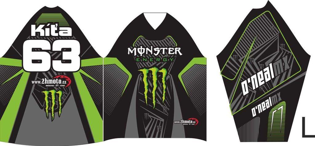 Obrázek produktu Dres na zakázku ukázka Motocross, Enduro, MTB, BMX, DH, 11 ID-29041