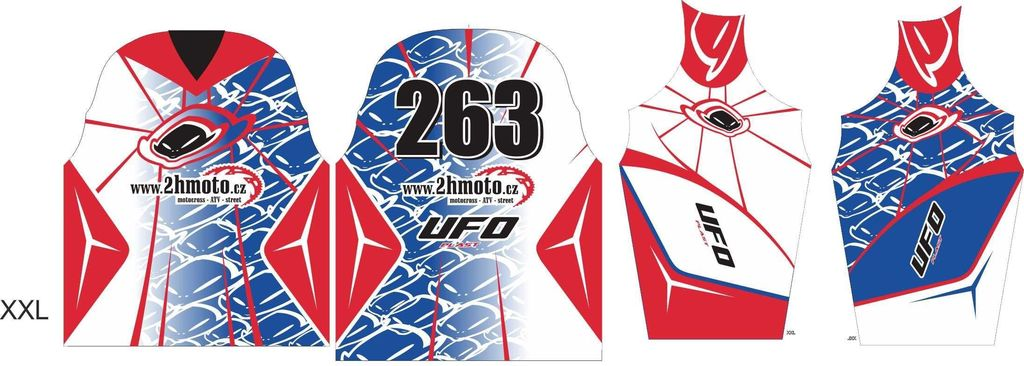 Obrázek produktu Dres na zakázku ukázka Motocross, Enduro, MTB, BMX, DH, 12 ID-29042