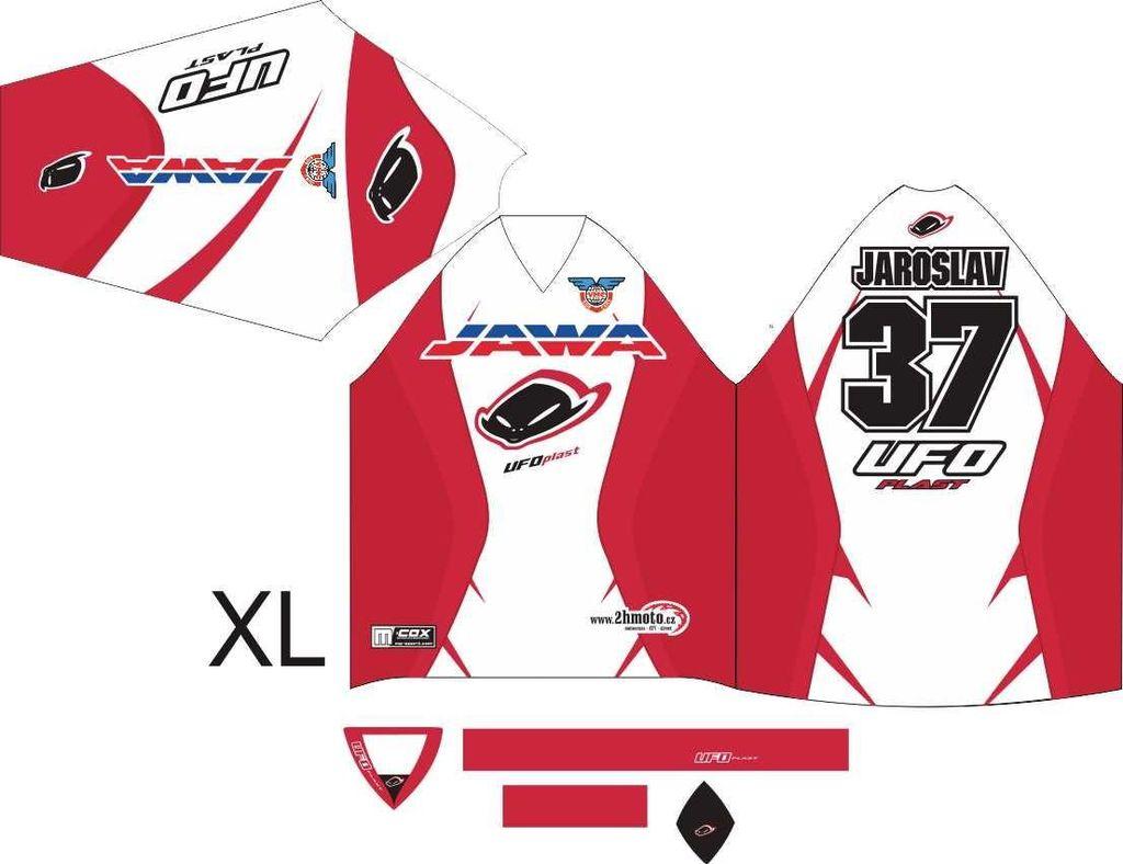 Obrázek produktu Dres na zakázku ukázka Motocross, Enduro, MTB, BMX, DH, 13 ID-29043