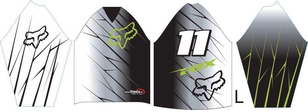 Obrázek produktu Dres na zakázku ukázka Motocross, Enduro, MTB, BMX, DH, 14 ID-29044