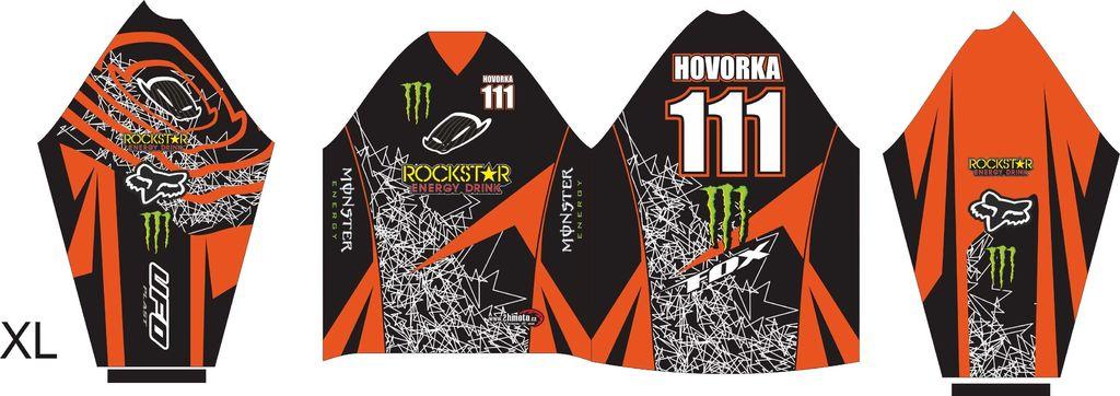 Obrázek produktu Dres na zakázku ukázka Motocross, Enduro, MTB, BMX, DH, 16 ID-29046