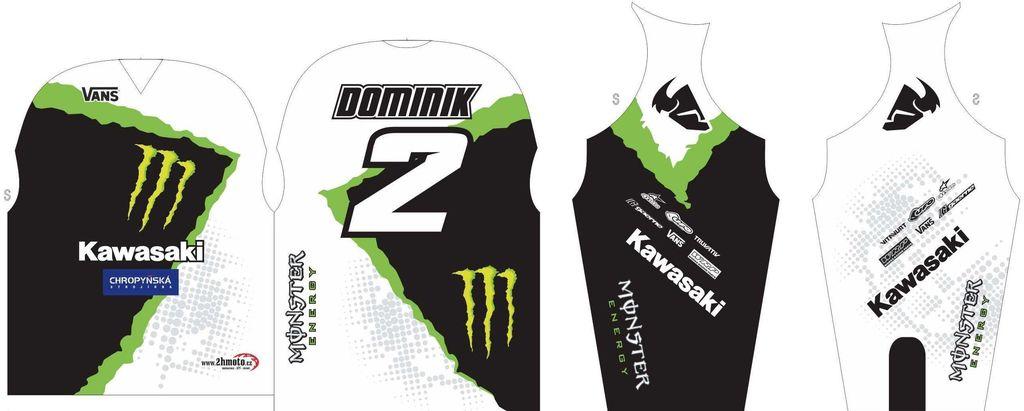 Obrázek produktu Dres na zakázku ukázka Motocross, Enduro, MTB, BMX, DH, 18 ID-29048