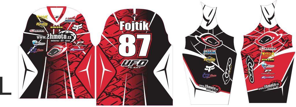 Obrázek produktu Dres na zakázku ukázka Motocross, Enduro, MTB, BMX, DH, 19 ID-29049