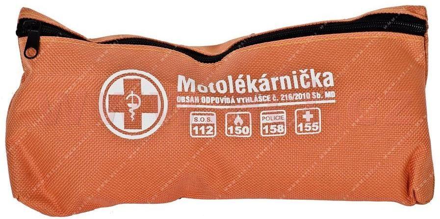 Obrázek produktu MOTOLÉKÁRNIČKA - TEXTILNÍ (dle platné vyhlášky 216/2010 Sb.) 9900988