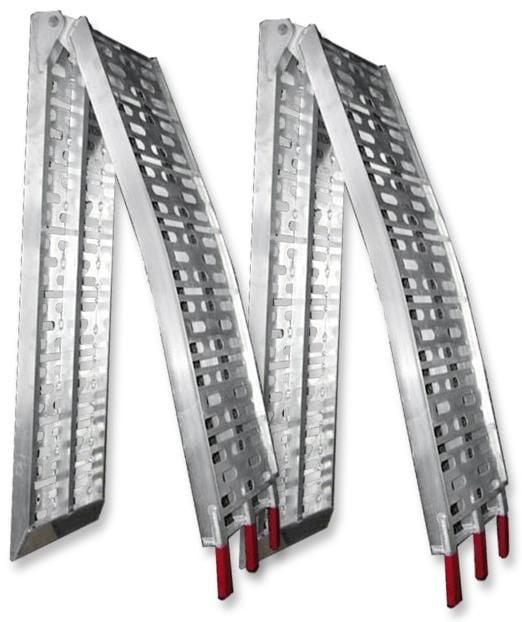 Obrázek produktu Hliníkové Skládací nájezdy na sněžnou frézu (sada 2 kusů) 01CZ2005