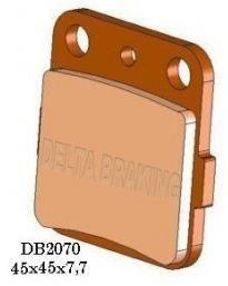 Obrázek produktu Přední brzdové destičky Delta Braking měkká směs DB2070 MX-N