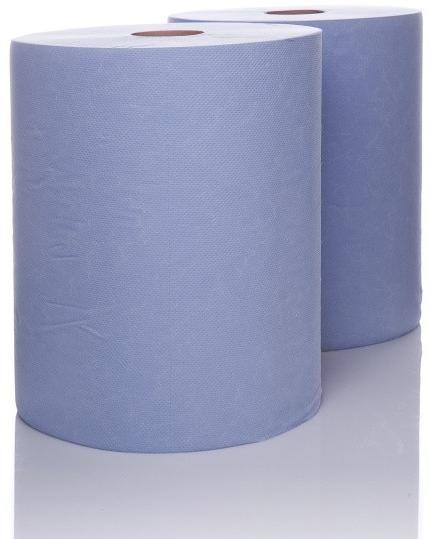 Obrázek produktu Průmyslové utěrky - DVĚ ROLE, dvouvrstvé, šíře 28 cm , délka 2 x 190 m (sada 2ks) R UTERKY