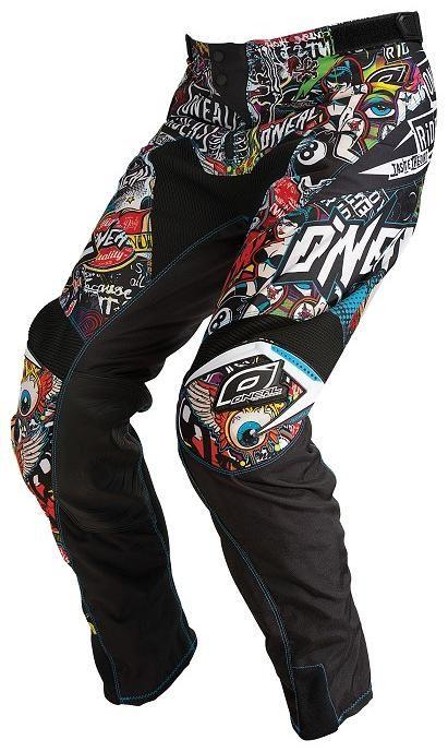 Obrázek produktu ONEAL Mayhem kalhoty CRANK černá/multi 30/46 0123C-130