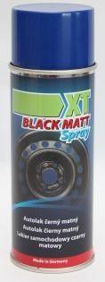Obrázek produktu Autolak černý matný 400 ml XT XT BMS400