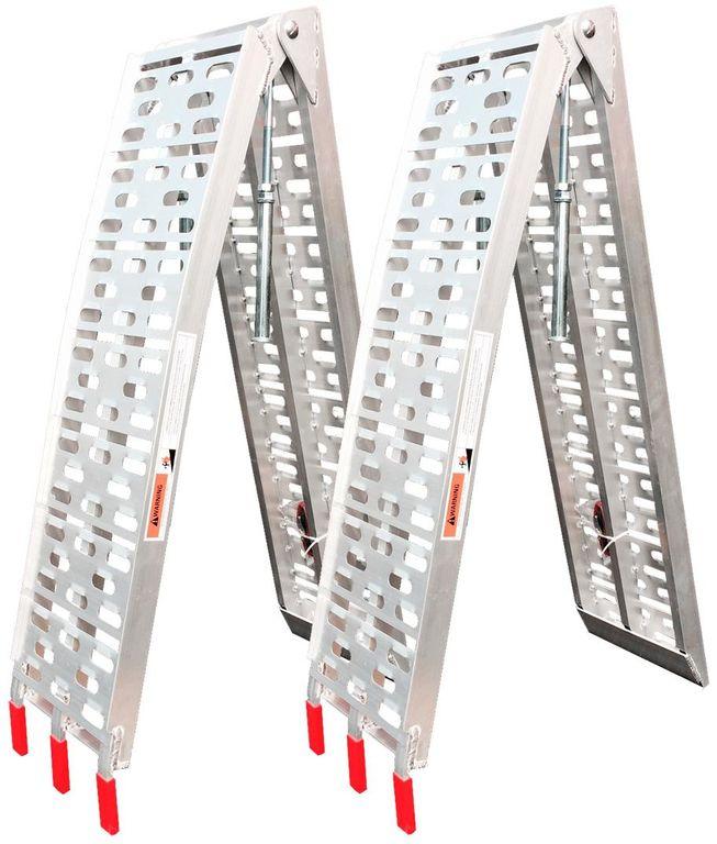 Obrázek produktu SHARK UTV, MOTO hliníkové nájezdy (2 kusy), nosnost max. 1360 kg (01CZ2015) 01CZ2015