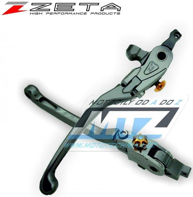 Obrázek produktu Páčka brzdy výklopná ZETA-PILOT (závodní provedení titan) - Honda CBR1100XX / 97-06 + X11 / 99-00 + Kawasaki NINJA400+NINJA400R / 11-17 + NINJA650+NINJA650R / 0-16 + VERSYS650 / 09-14 + VERSYS1000 / 1
