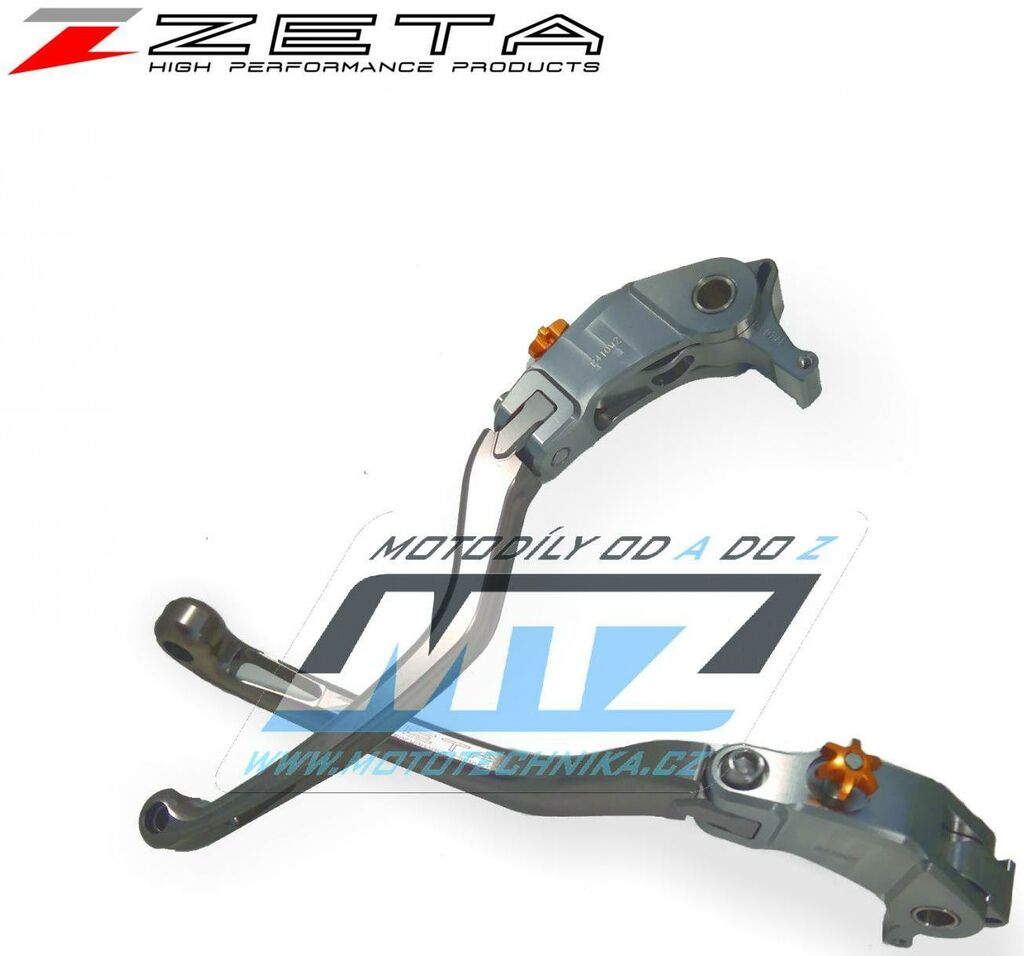 Obrázek produktu Páčka brzdy výklopná ZETA Pilot titan, zs61-1410
