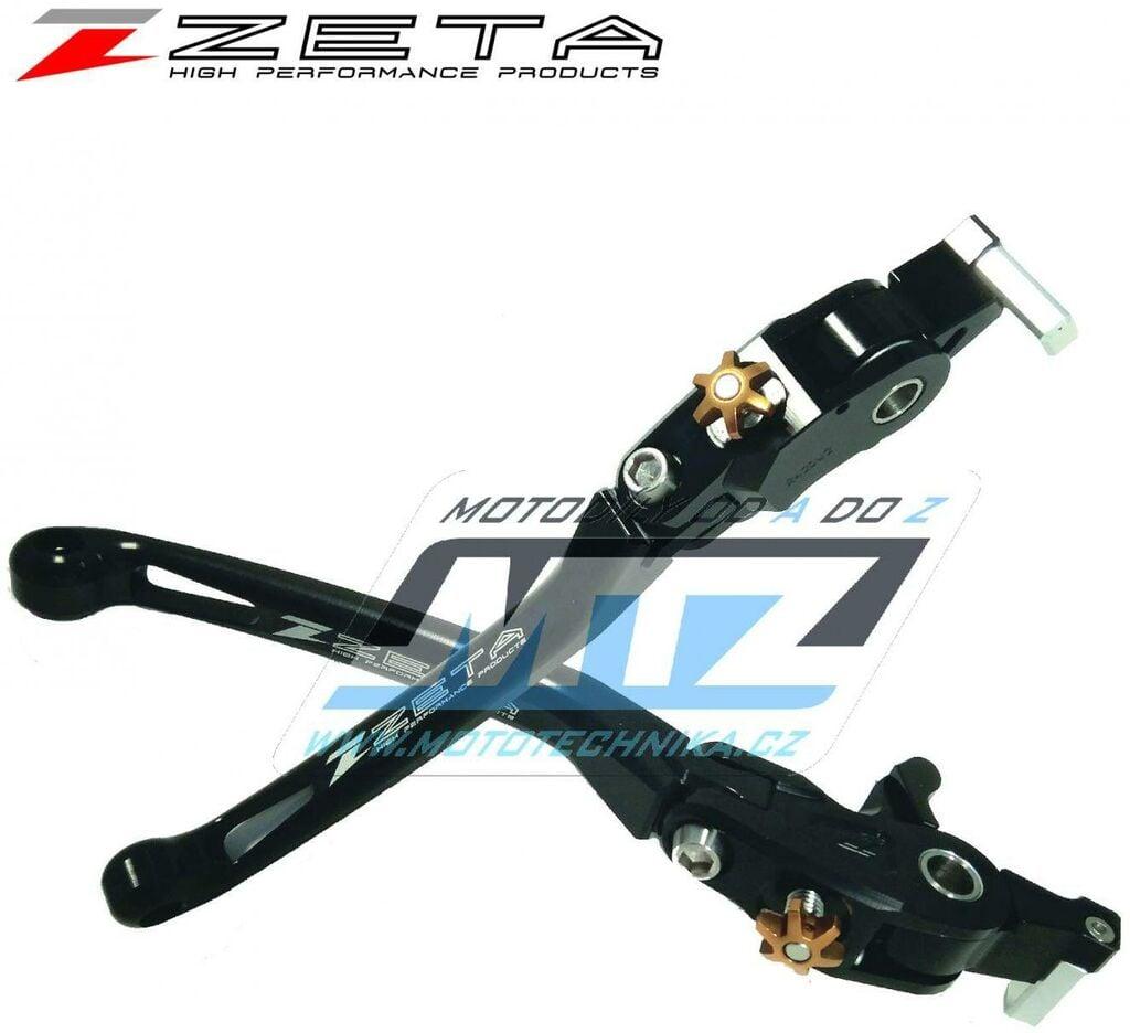 Obrázek produktu Páčka brzdy výklopná ZETA-PILOT (závodní provedení černá) - Honda CB1300SF/SB/ST/ 03-19 + CB1000SF / 92-97 + CB400SF/SB ABS/ 14-20 + CB1100/EX/RS / 10-20 + CBR900RR / 98-99 + CBR600F / 99-06 + CB750 /