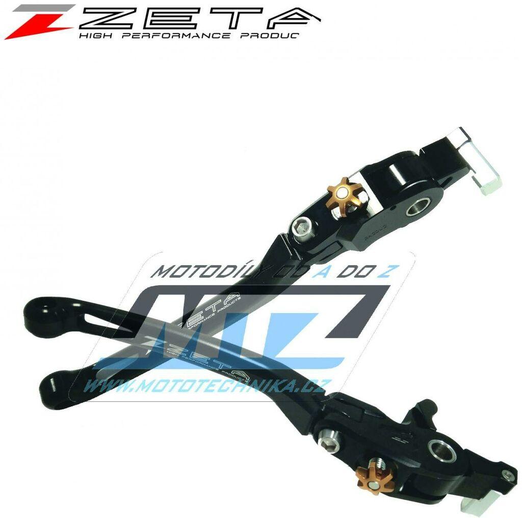Obrázek produktu Páčka brzdy výklopná ZETA-PILOT (závodní provedení černá) - Yamaha FJR1300 / 01-02 + XJR1200+XJR1300 / 94-15 + XJR400R / 93-07 + Kawasaki ZX-12R / 00-07 + ZX-6R / 02-04 + ZZR1200 / 02-05 + ZX-11 / 97-