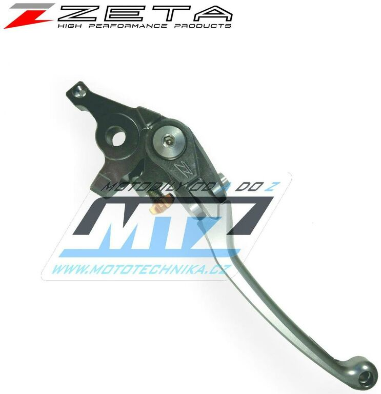 Obrázek produktu Páčka brzdy výklopná ZETA-PILOT (závodní provedení titan) - Yamaha NIKEN / 19 + MT-10+MT-10SP+FZ-10 / 17-20 + MT-09 TRACER / 15-20 + MT-07+FZ-07 / 14-20 + XSR900 / 16-20 + XSR700 / 16-20 + FZ1+FZ1N+FZ