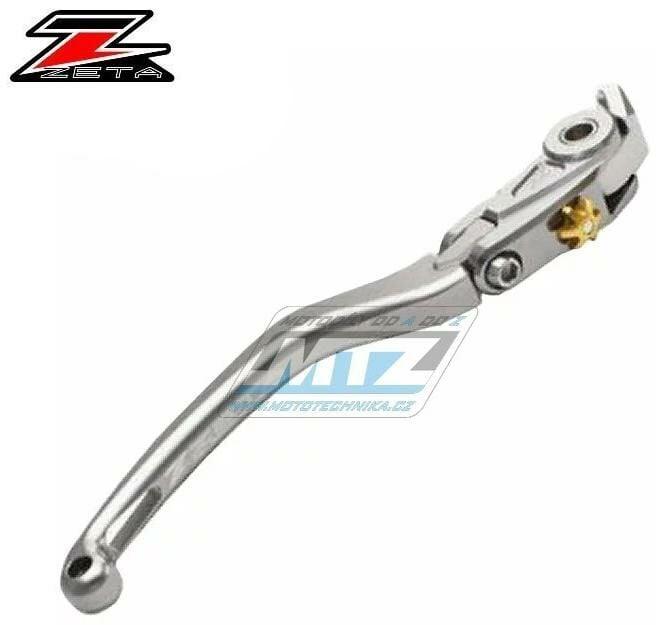 Obrázek produktu Páčka brzdy výklopná ZETA-PILOT (závodní provedení titan) - Ducati PANIGALE V4+PANIGALE V4R / 18-20 + PANIGALE V2 / 20 + 1198+1098+1098S+1098R / 08-11 + Triumph DAYTONA 675 / 13-15 + SPEED TRIPLE R /
