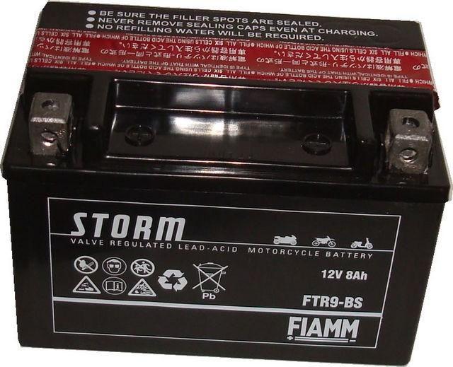 Obrázek produktu Baterie FIAMM STORM FTX9-BS (12V-8Ah) 150x87x105 Motocyklový akumulátor B-FTX9BS