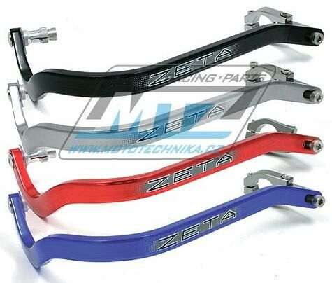 Obrázek produktu Chrániče/kryty páček ZETA ARMOR HAND GUARDS Bend 22.2mm - Barva: Černá ZE720001