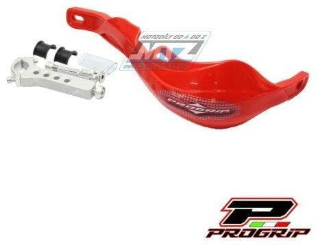 Obrázek produktu Bástry (kryty páček) s výztuhou Progrip 5610 včetně univerzálního montážního kitu - červené (pg5610-04) PG5610-04