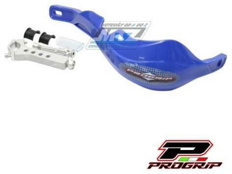 Obrázek produktu Bástry (kryty páček) s výztuhou Progrip 5610 včetně univerzálního montážního kitu - modré (pg5600-03_1) PG5610-03