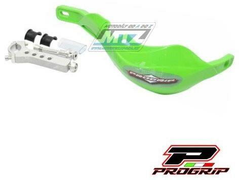 Obrázek produktu Bástry (kryty páček) s výztuhou Progrip 5610 včetně univerzálního montážního kitu - zelené (pg5610-08) PG5610-08