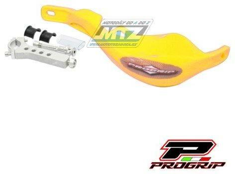 Obrázek produktu Bástry (kryty páček) s výztuhou Progrip 5610 včetně univerzálního montážního kitu - žluté (pg5610-05) PG5610-05