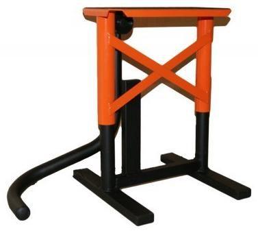 Obrázek produktu Stojan / stojánek MX cross s gumou oranžový 2H-MOD1A-07/02